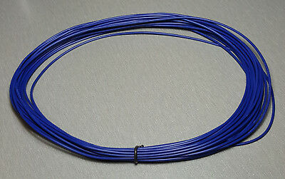 10 Metres BLUE UL-1007 Hookup Wire 20AWG 1.8mm PVC insulator