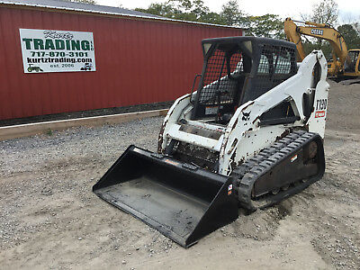 2007 Bobcat T190 Tracked Skid Steer Loader. New Tracks. Coming in Soon!
