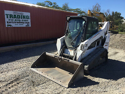 2014 Bobcat T590 Tracked Skid Steer Loader w/ Cab. Coming in Soon!