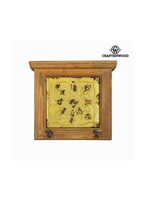 Attaccapanni legno giallo by Craftenwood Craftenwood 7569000711444 S0100549