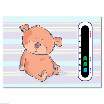 Baby Safe Ideas Cute Bear Nursery Room Thermometer