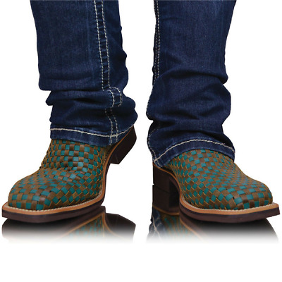 30% OFF ! Twisted X Top Hand Boots Womens - Turquoise