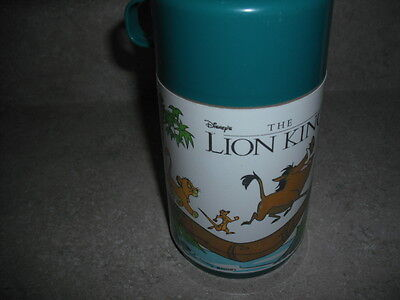1992 The Lion King Thermos for Lunch box * Nice * Vintage