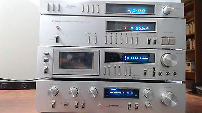 vintage pioneer stereo  home system