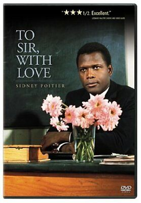 To Sir, With Love (DVD) LIKE NEW DVD, Fast Shipping From California,