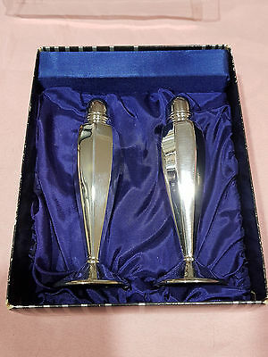 Perfection Silverware Vintage Salt and Pepper Shakers