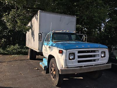 1977 Dodge 700 Custom  1977 DODGE 700 CUSTOM BOX TRUCK CHRYSLER OWNED