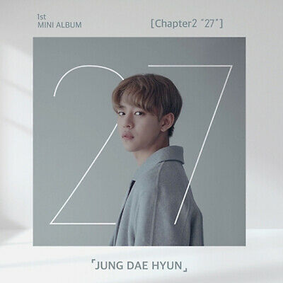 "B.A.P JUNG DAEHYUN CHAPTER2 ""27"" 1st Mini Album CD+Photo Book+Card K-POP SEALED"