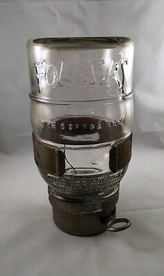 Vintage Folgers Wall Mounted Coffee Dispenser