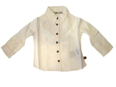 MEXX girls kids blouse with Lace Paper Size 74 80 86 92