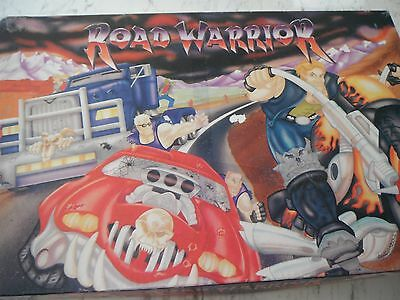 ROAD WARRIOR!  Spears/Mattel 1996 Strategy Game