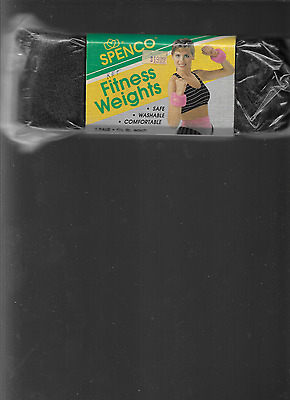 New Spenco Fitness Weights Safe Washable Comfortable Aerobics, Walking, Running