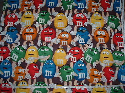 New M And M's Print Handmade Plastic Bag Holder / Dispenser  You Choose Cute