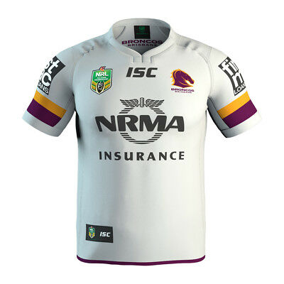 Brisbane Broncos 2017 Away Jersey Adults & Kids Sizes Available NRL ISC SALE