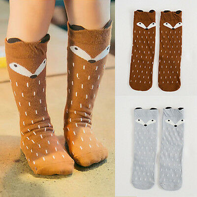 Cute Toddler Kids Baby Girls Fox Pantyhose Pants Hosiery Cotton Tights Stockings