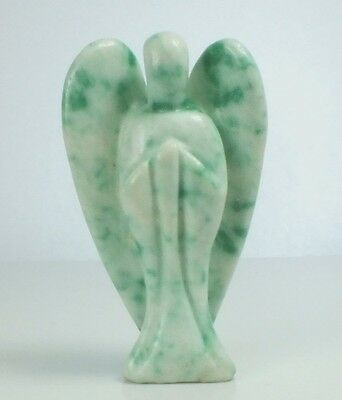 Angel Carved In Jade (EA741M) gem crystal gift healing reiki polished stone