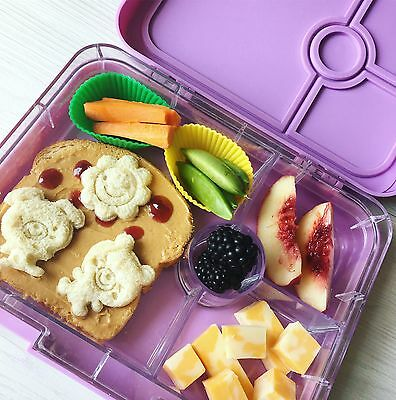Leakproof Bento Lunch box for Kids or Adults  BPA Free Purple Lilac Bonoshoppe