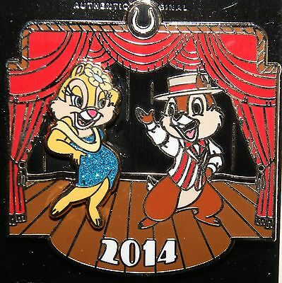 Disneys Chip & Dale Dapper Days - Chip & Clarice LE Pin  2014