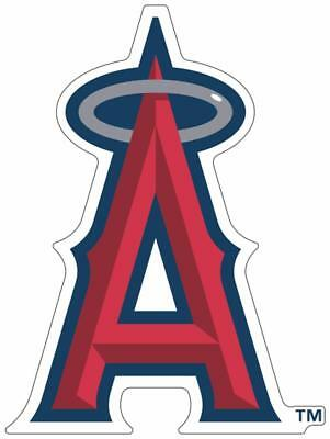 Los Angeles Anaheim Angles Color Die Cut Decal Car Sticker Sizes Free Shipping
