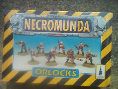 Sealed MIB Warhammer 40K Necromunda House Orlock ORLOCKS. 8 figures.