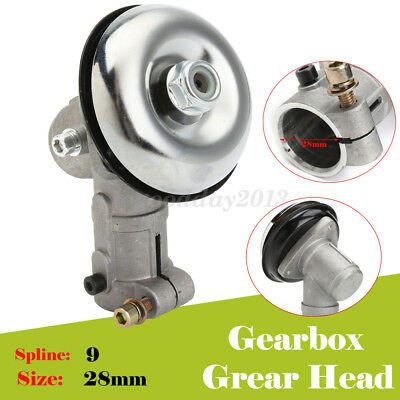 9 Spline 28Mm Gearbox Gearhead To Fit Various Strimmer Trimmer Brush Cutter