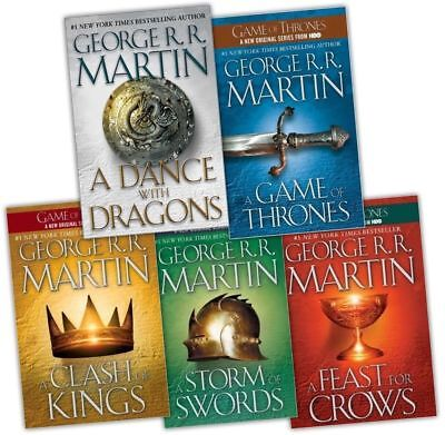 George RR Martin- The Game of Thrones Series 5 Audiobooks (MP3 DVD) Unabridged