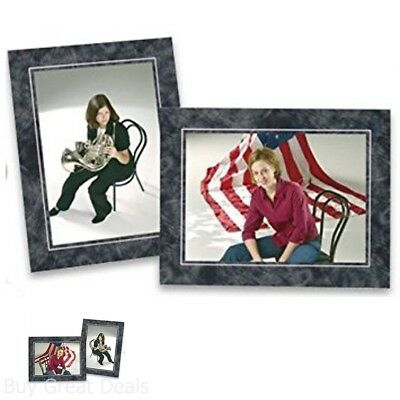 PACK OF 25, Cardboard Photo Easel Frame for 4x6 Photo, Black ...