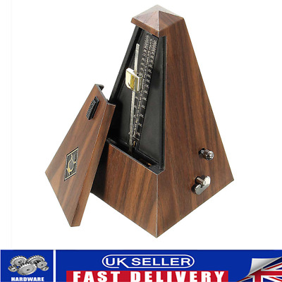 VINTAGE METRONOME TEAK Mechanical Music Timer Instrument for Piano ...
