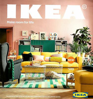 New IKEA 2018 Catalog (English) US Edition **Free & Fast Shipping**
