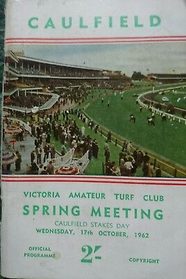 1962 Caulfield Stakes Race Book (Sky High)
