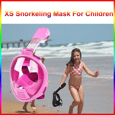 For Kid Full Face Diving Snorkel Snorkeling Mask Swimming Goggles Scuba  Seaview
