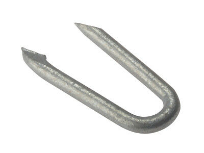 Forgefix Netting Staples, Galvanised Range