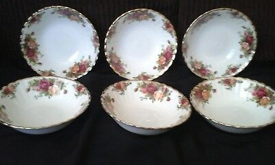 Royal albert old country roses16cm cereal bowl price is for one bowl 6available