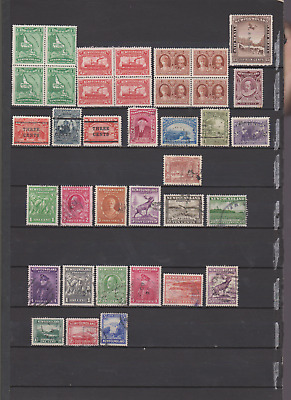 Newfoundland 1897/1920's Collection Mint Mounted & Used