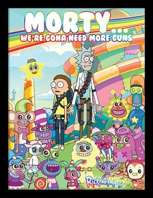 Rick and Morty - Cuteness Overload - 30 x 40cm Framed Poster Print FP12154P-PL