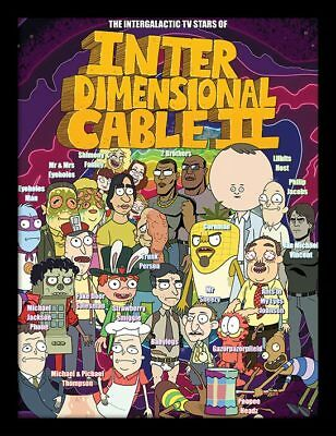 Rick and Morty - Inter Dimensional Cable 30x40cm Framed Poster Print FP12159P-PL