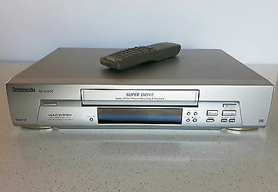 PANASONIC 'Super Drive' 12 hours record and play NV-SJ200 VHS player with remote