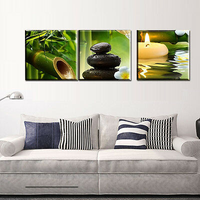 3PCS Modern Art Oil Paintings Canvas Print Wall Unframed Pictures Home Decor Hot