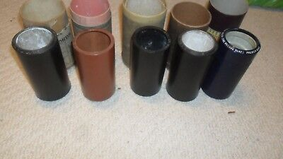 5 Edison & Indestructible  Phonograph cylinders in various boxes