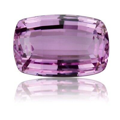 Wow Huge 50.6 Cts Pink Kunzite cushion rectangle cut stone with 24X16X12 MM