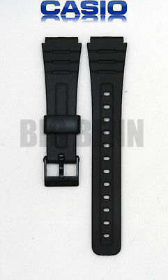 Original Genuine Casio Wrist Watch Strap Replacement Band for F 105W 1A, F 91W