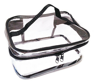 Clear make up bag / Toiletry bag / Holiday Travel Pouch