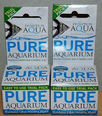 Pure Aquarium (Maintains Crystal Water 12 Balls Water Tests & Treatment