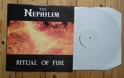 Fields of The Nephilim Ritual of Fire Live LP Goth