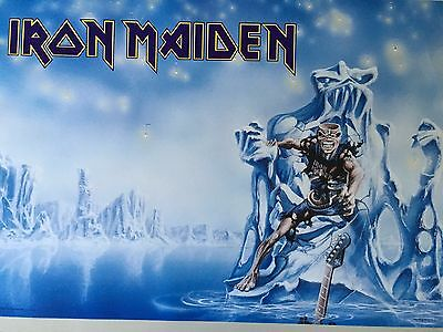 Iron Maiden,seventh Son Of A Seventh Son,rare Authentic 1989 Poster