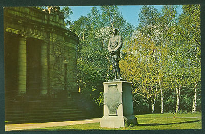 LIBRARY ST PAUL'S SCHOOL CONCORD NH Spanish American Memorial Statue US Postcard