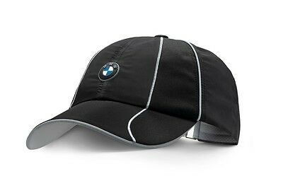 Original BMW Athletics Sports Cap Schwarz Unisex *NEU/OVP*
