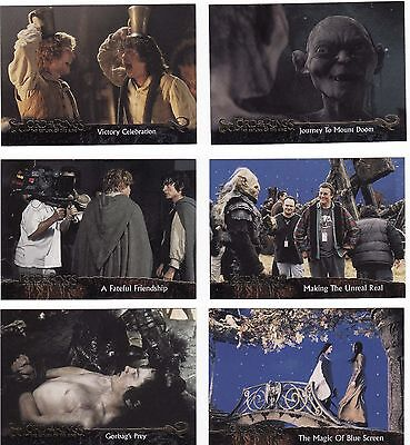 18 Different Lord Of The Rings Cards, 2004, The Return Of The King, Nice Lot.