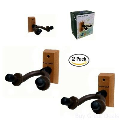 Tetra-Teknica Essentials Series Hardwood Home And Studio Guitar Hanger