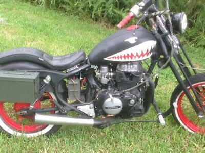 1981 Honda Other  1981 Honda 400 Springer Front End Wire wheels runs and drives NO RESERVE!